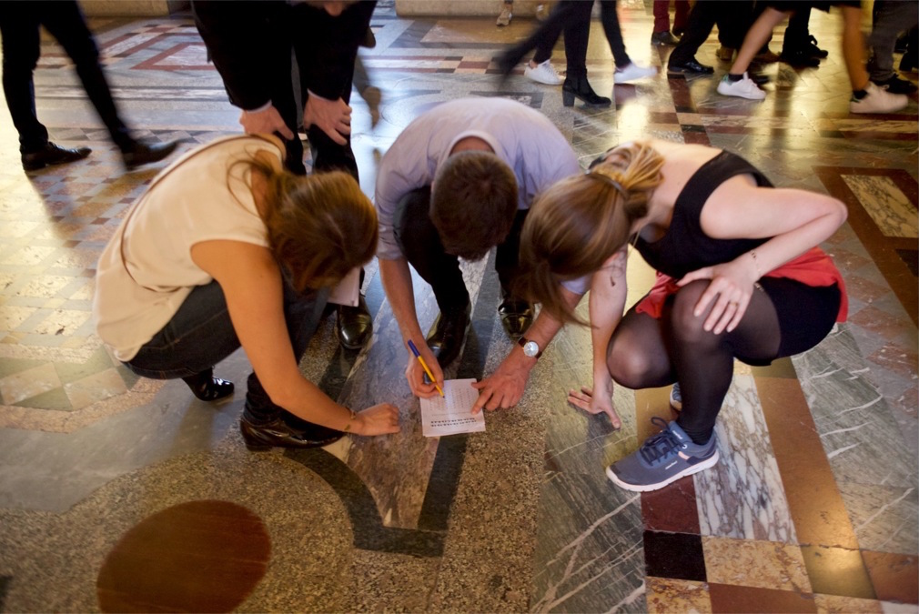 Escape game au Louvre